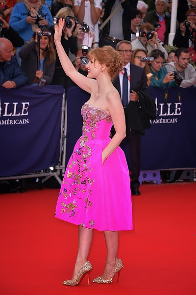 Jessica Chastain at Film Festival in Deauville