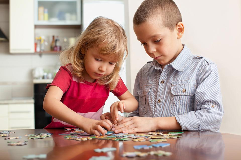 Jeux calmes pour les enfants
