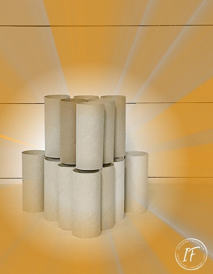 Toilet Paper Roll Fire Starters
