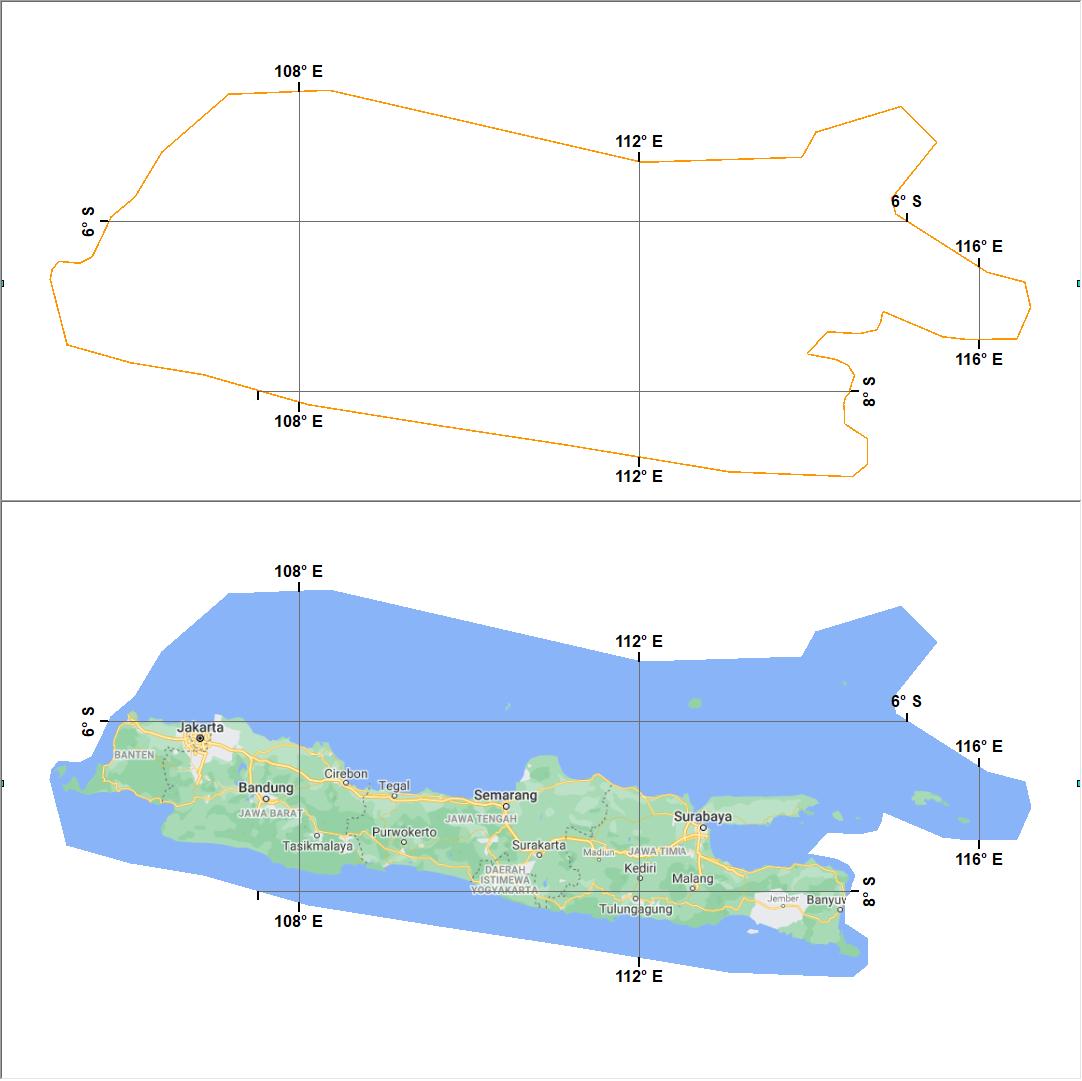 Membuat Grid Peta Dengan Bentuk Custom