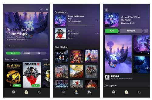 Menggunakan Aplikasi Xbox Game Pass