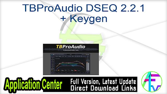 TBProAudio DSEQ 2.2.1 + Keygen