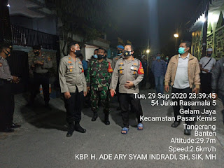 Pelaku Corat coret Tempat Ibadah,Dibekuk Polresta Tangerang.