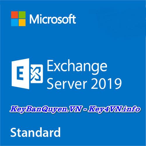 Key Bản Quyền Exchange Server 2019 Standard Uy Tín Giá Rẻ.