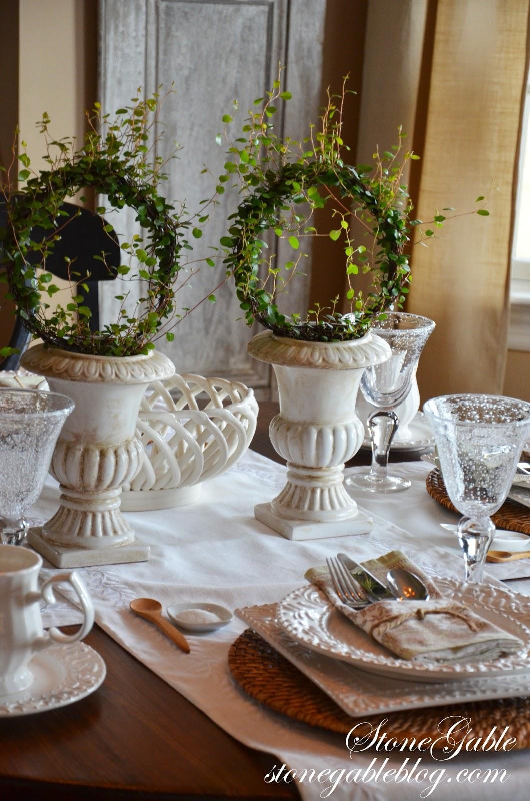 FORMULA FOR SETTING A CASUAL TABLE - StoneGable