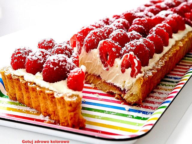 Wyjątkowo smaczna tarta z malinami. Kruche ciasto Aarona - Czytaj więcej »