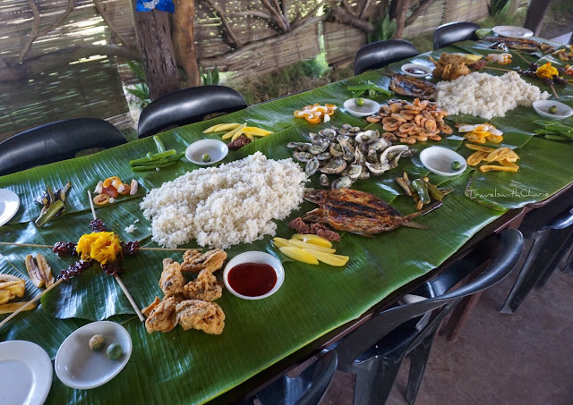 boodle fight, Roxas City