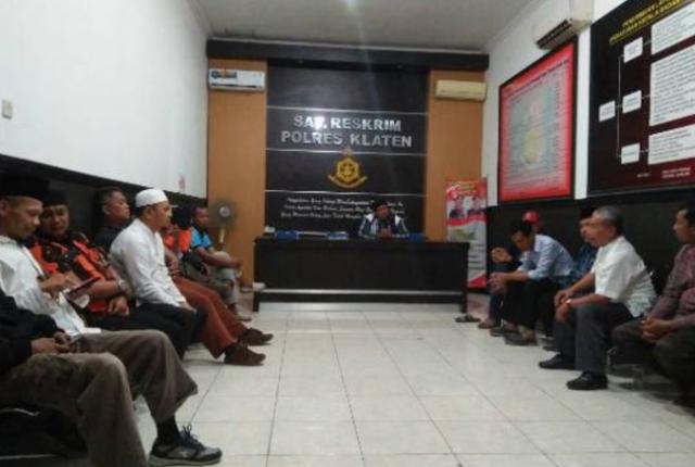 Setelah Jadi Buronan Umat Islam, Penista Agama di Klaten Menyerahkan Diri