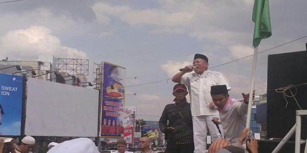 Tak Berani Adu Dalil, FPI dan Wahabi Lampung pilih Demo Gus Ishom