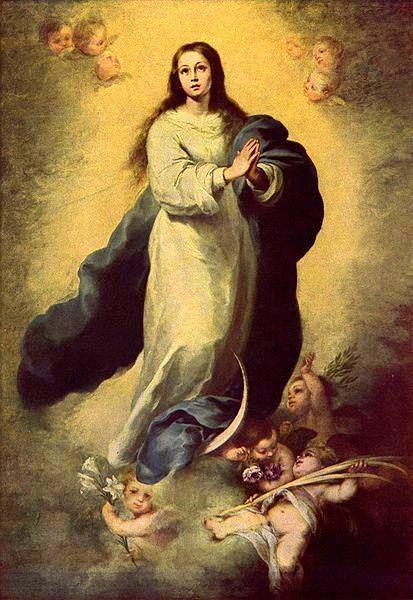Pintura de la Inmaculada Concepción
