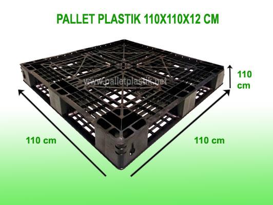 Pallet Plastik 110x110x12 cm