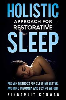 Holistic Approach for Restorative Sleep by Bikramjit Konwar health book promotion