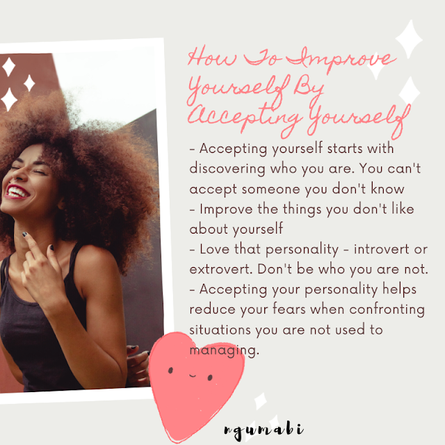 How to Improve Yourself by Accepting Yourself