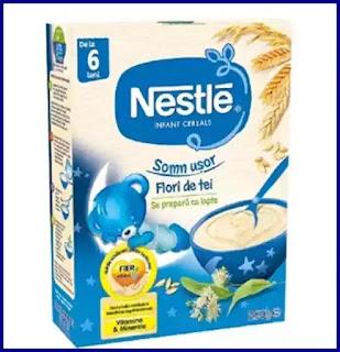 cereale sonm usor nestle pt bebelusi 6 luni opinii beneficii