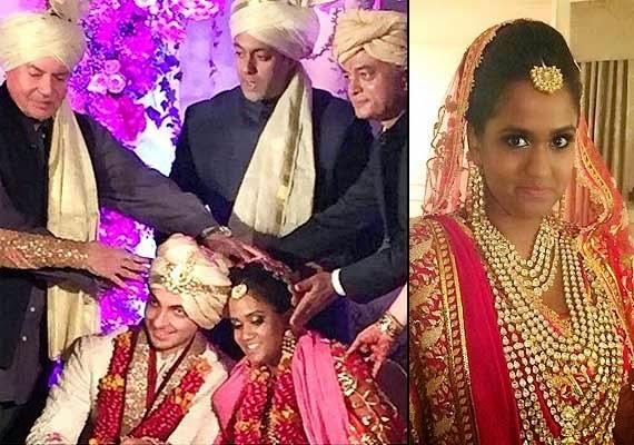 Arpita Khan Wedding Jewelry