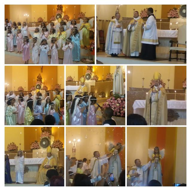 Emoção marca encerramento do mês de Maria na Igreja de Sant`Anna