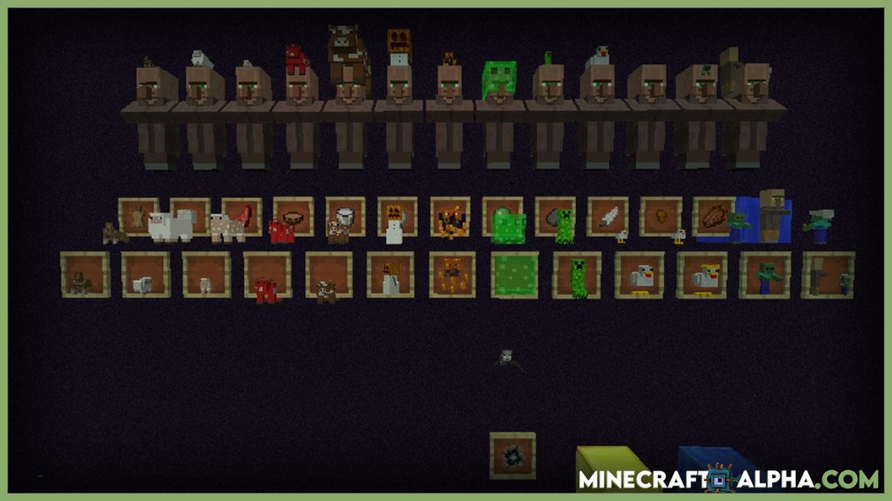 Minecraft Statues Mod 1.17.1 (Sculpt any Minecraft Skin)