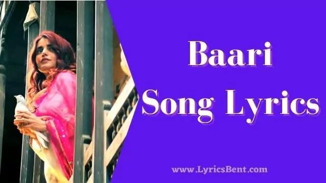 Baari Song Lyrics