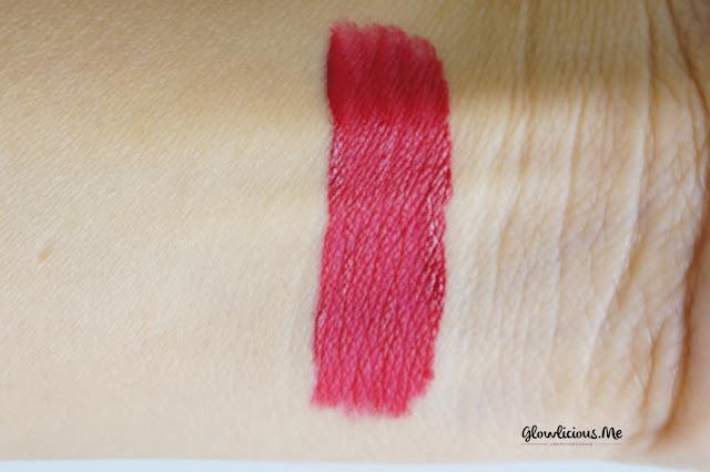 Swatches Mineral Botanica Soft Matte Lip Cream in Fantasy Fuschia No. 4