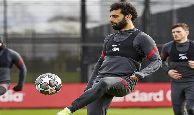 The formation of Liverpool against Leipzig ... Mohamed Salah is essential and Firmino excluded
