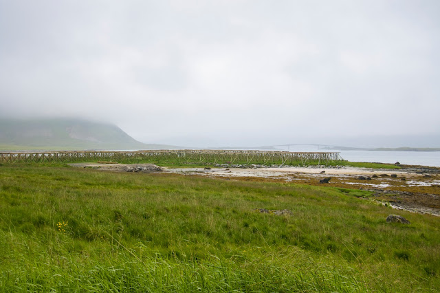 Strada verso A i Lofoten-Isole Lofoten