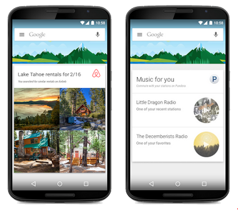 Google Now intègre désormais plus de contenus d'applications tierces