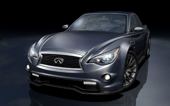 Four Door Infiniti Super G - 530 horsepower