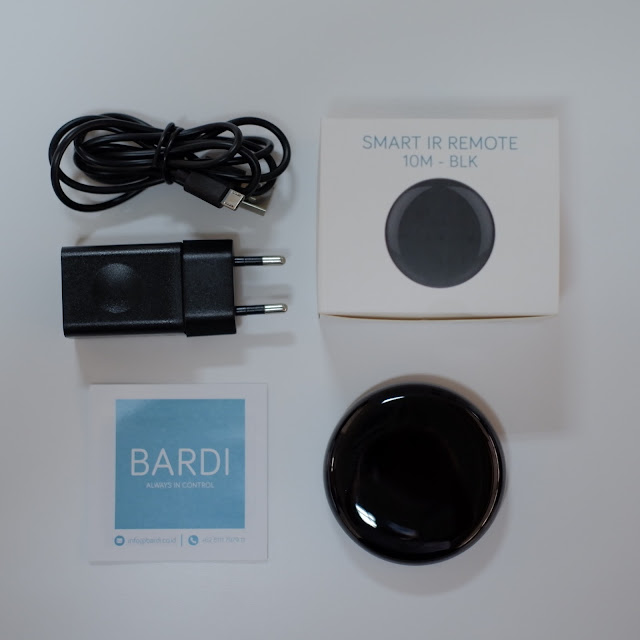 Review Bardi Smart Light 9W RGBWW dan Bardi IR Remote