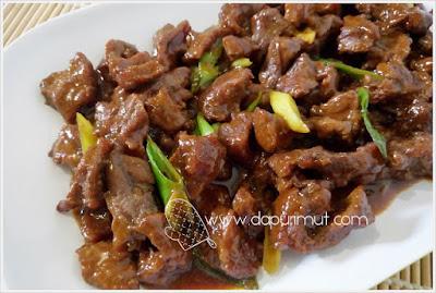 Beef Bulgogi Korea siap disajikan
