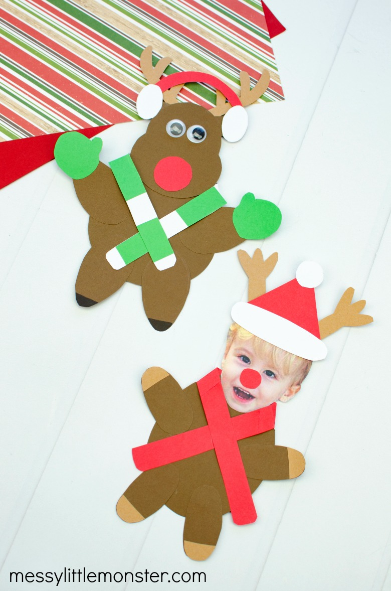 mix and match reindeer craft