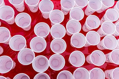 Plastikbecher, Sammlung, Müll