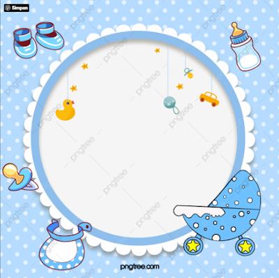frame-biodata-bayi-png