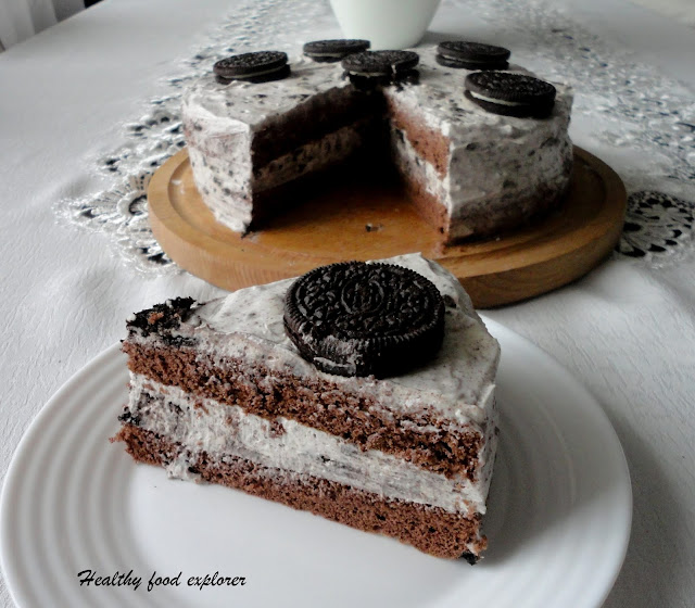 Fit tort Oreo