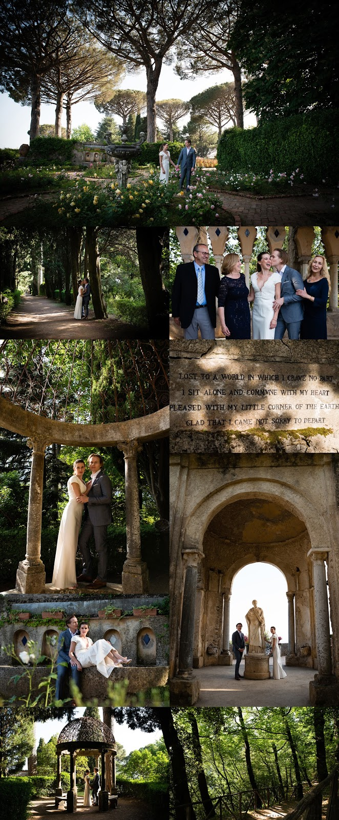 Wedding at Villa Cimbrone