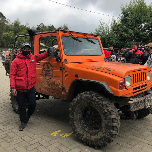 Jeep tour dieng