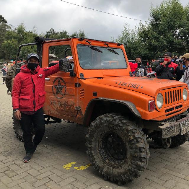 Jeep tour dieng