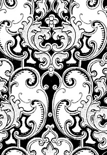 background digital design scroll pattern antique wallpaper