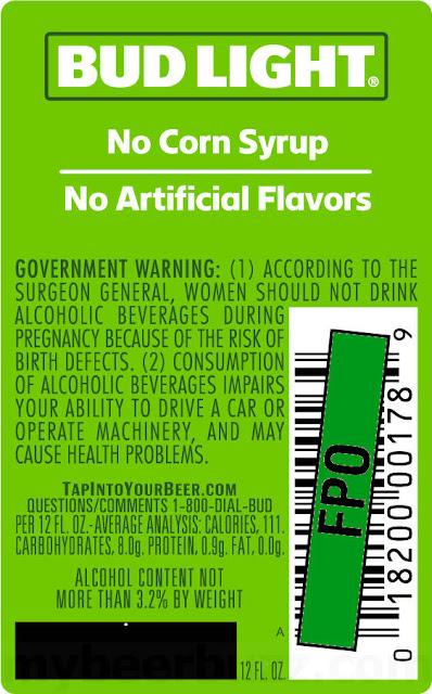 "Bud Light Adding ""No Corn Syrup"" To Bud Light Orange & Lime Labels"