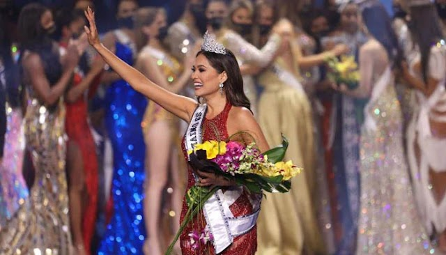 Mexican Beautiful Andrea Maja won Miss Universe Crown this year