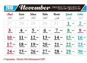 Hari Penting Nasional dan Internasional Bulan November 2019-free-download-kalender-2019-bulan-november
