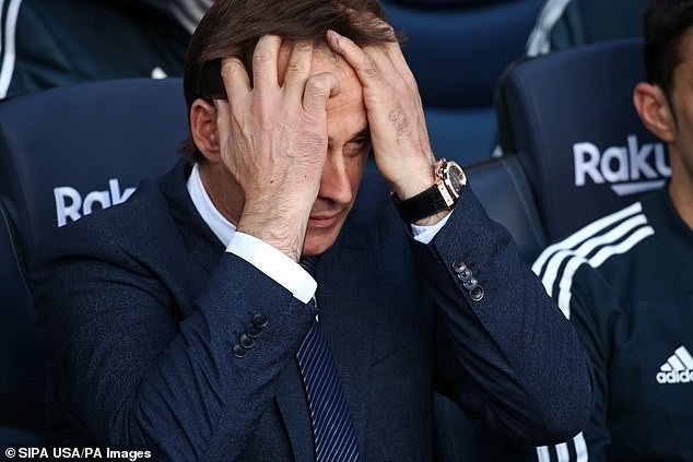 Genuine Madrid sack director Julen Lopetegui in the wake of embarrassing 5 - 1 defeat to Barcelona