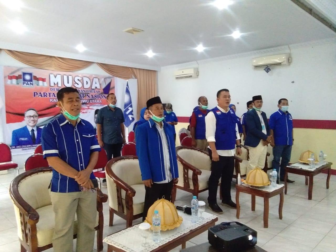 Karemuddin Kembali Pimpin PAN Kabupaten Luwu Utara
