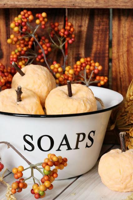 DIY Pumpkin Soaps