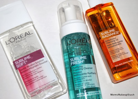L'Oréal Paris Releases Sublime Cleansers for all Skin Types!  - Moms Makeup Stash - A Beauty/Lifestyle Blog