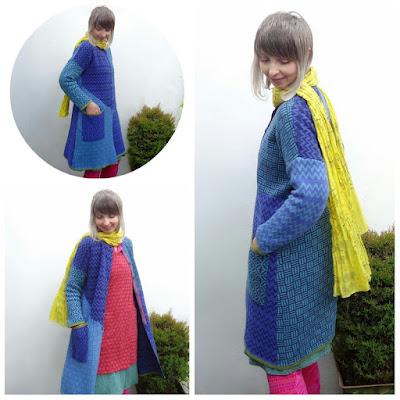 Gudrun Sjoden's joyous Murano coat.