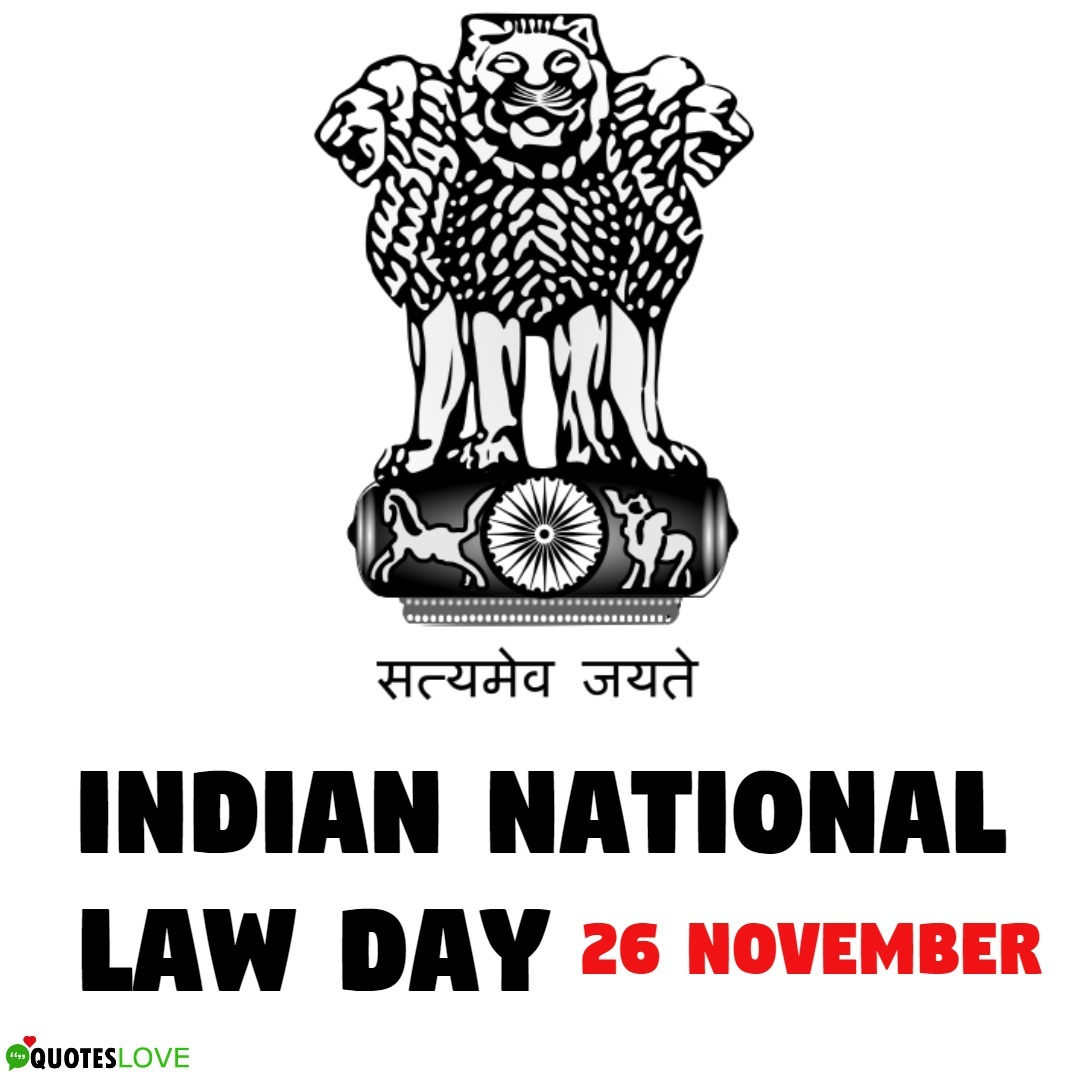 Indian National Law Day 2019 Images