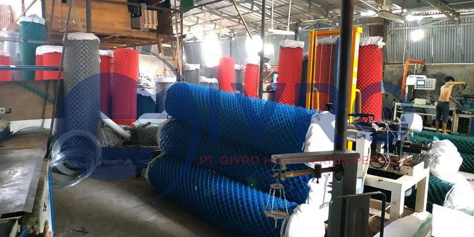 Pabrik Kawat Harmonika PVC Jakarta Timur