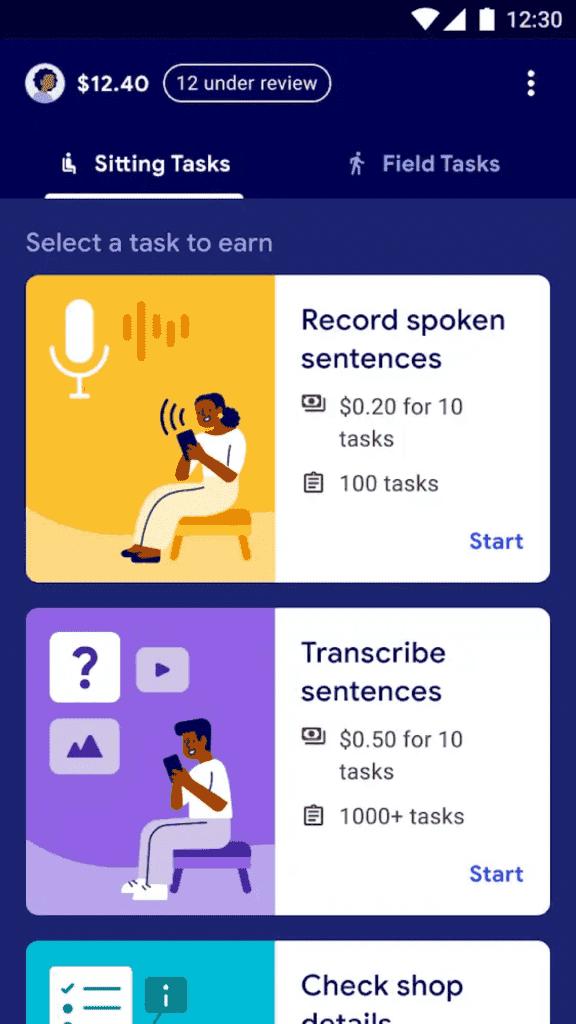 الربح من الانترنت :  سيسمح لك  GOOGLE's TASK بكسب المال من خلال القيام بأشياء 'بسيطة'!