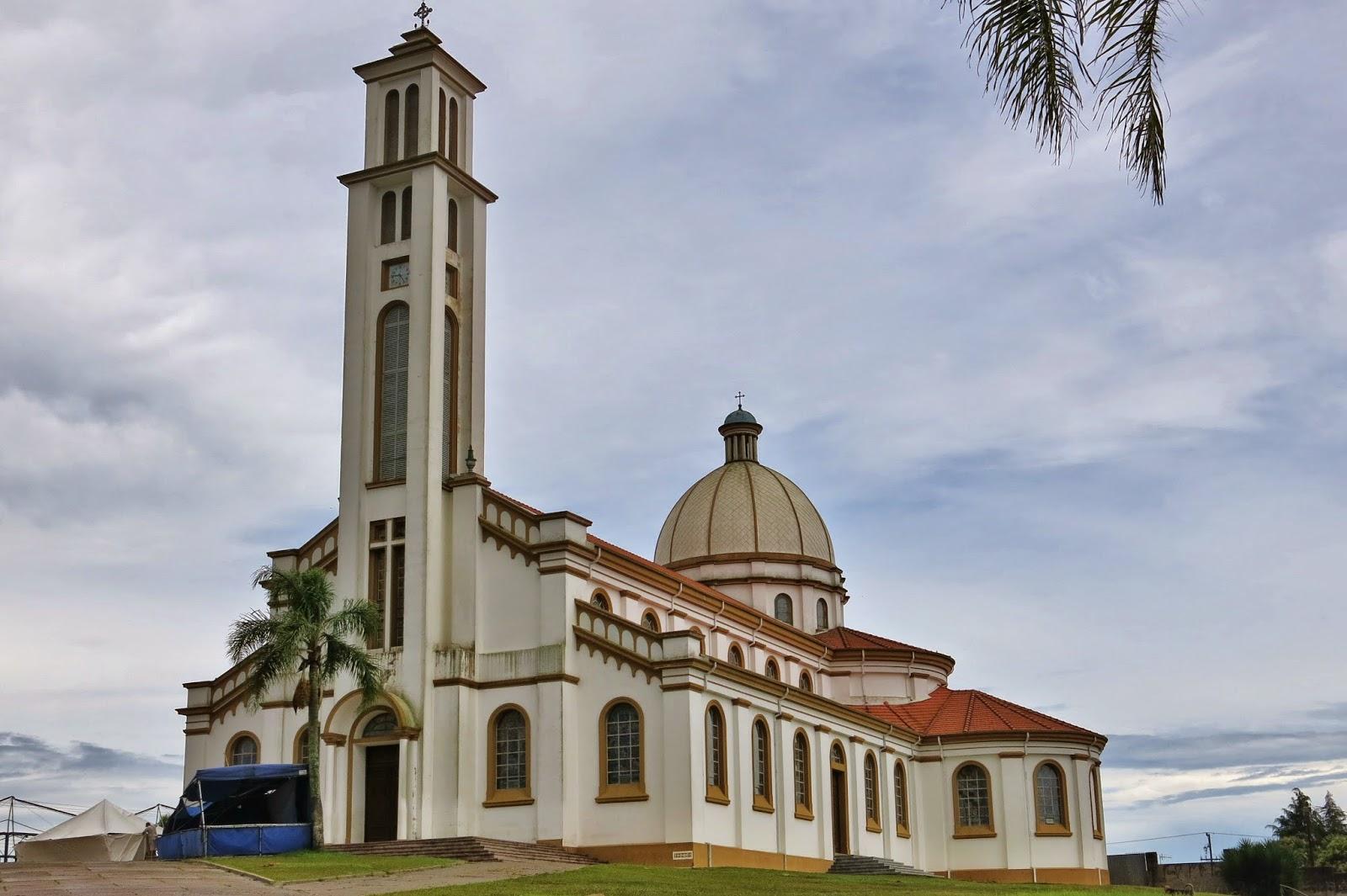 Santuário de São Benedito no Centro Histórico da Lapa, no Paraná.