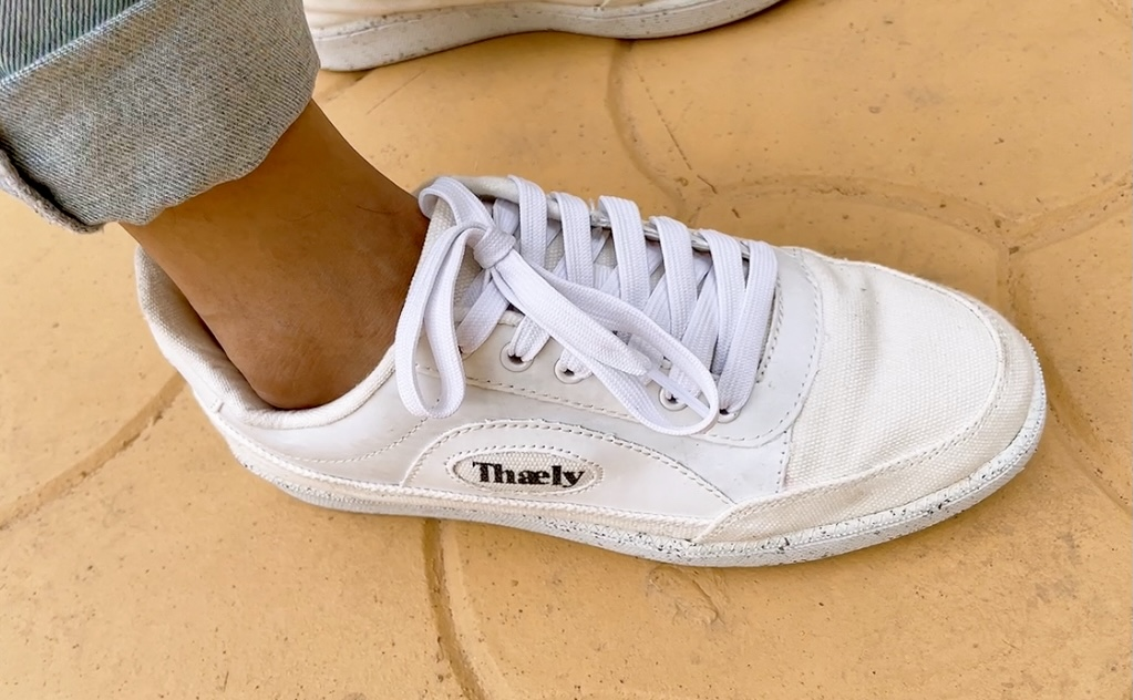 Thaely Sustainable Sneakers Made from Recycled Plastic Bags